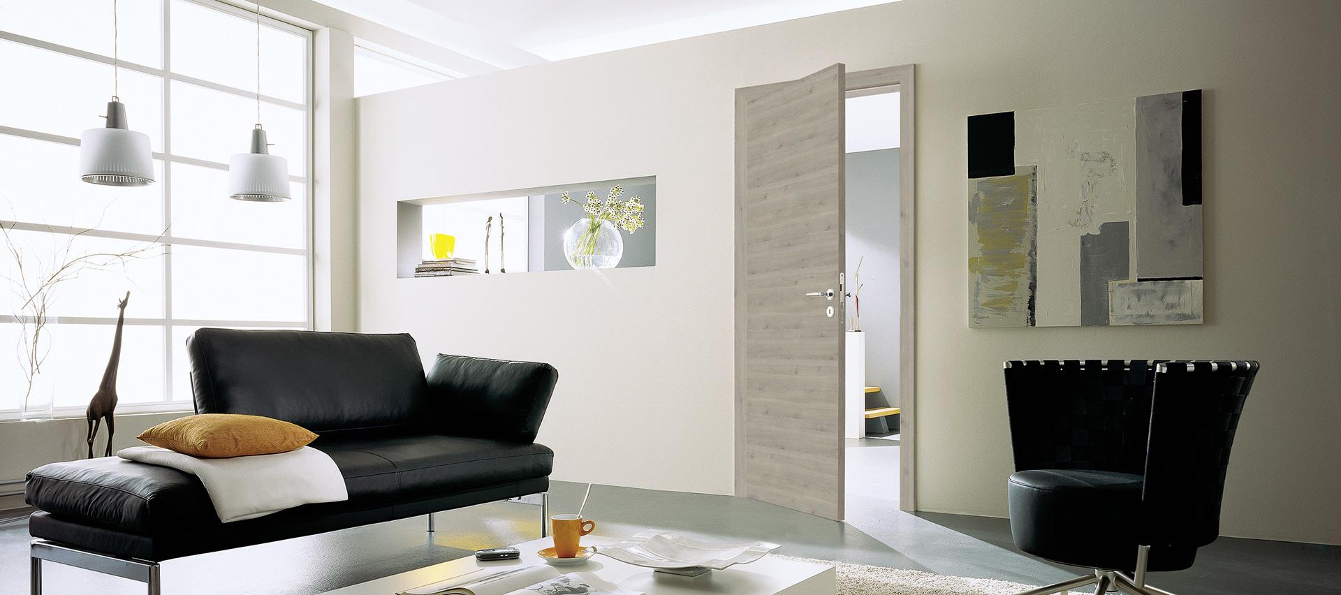 Zimmertüren grau bei Holz-Hauff in Leingarten