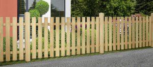 Gartenzäune natur von Holz-Hauff in Leingarten