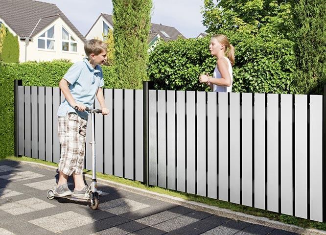 Gartenzäune modern von Holz-Hauff in Leingarten