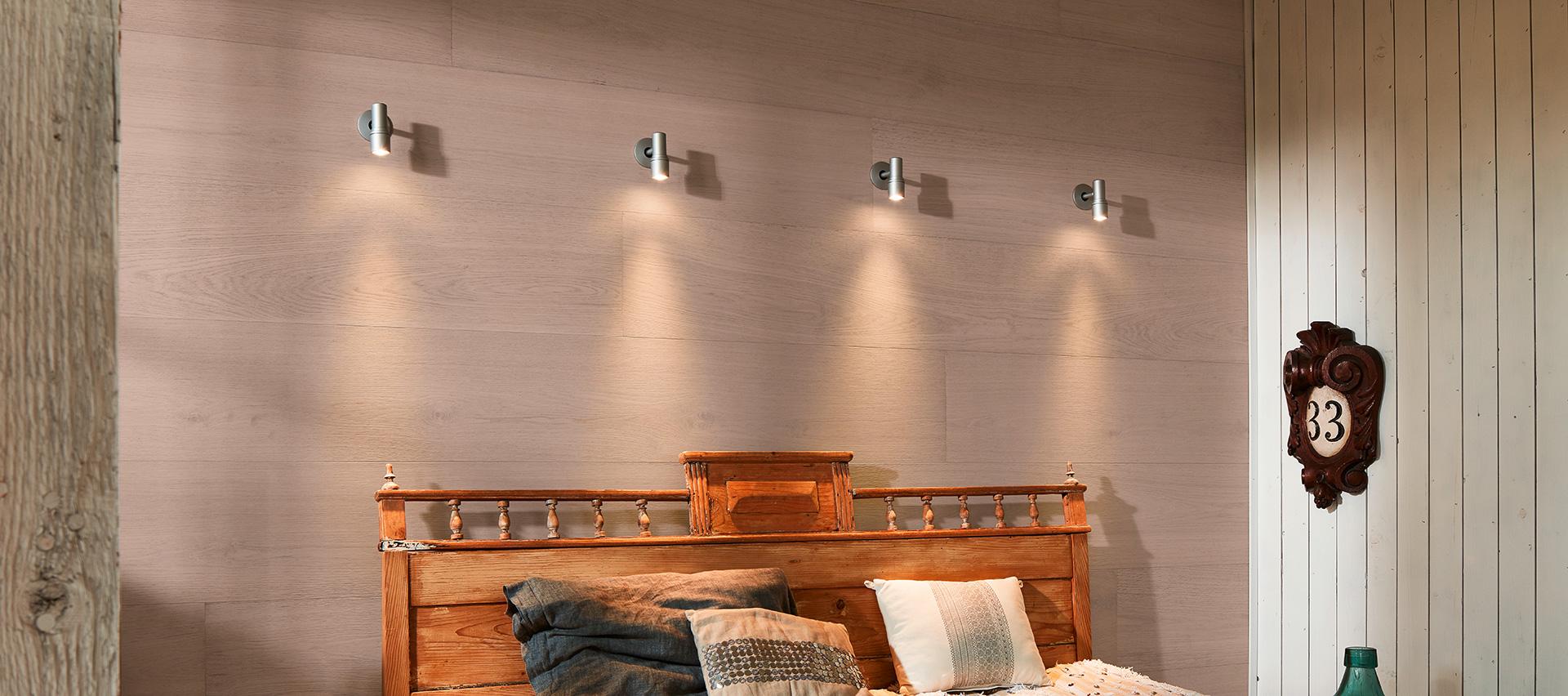 Wohnen mit Wandbeleuchtung von Holz-Hauff in Leingarten