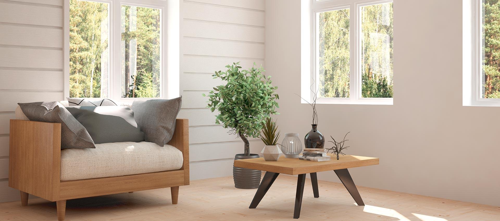 Echtholzpaneele weiß bei Holz-Hauff in Leingarten