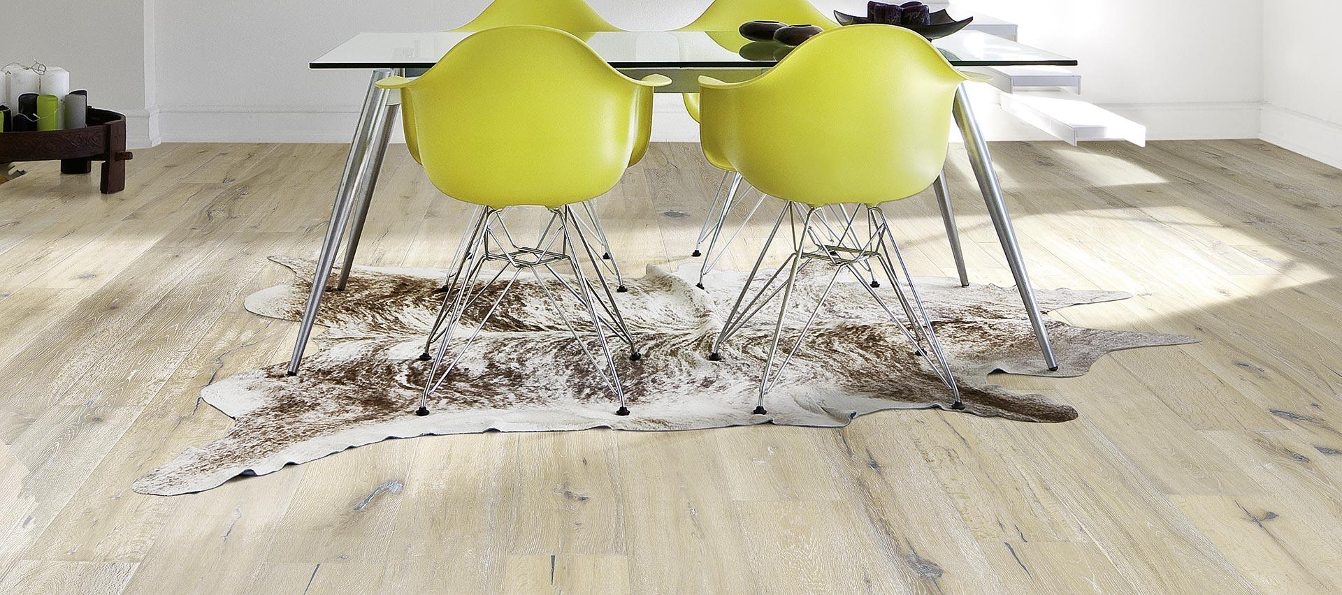 Wohnen mit Böden von Holz-Hauff in Leingarten