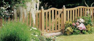 Gartenzäune romantisch von Holz-Hauff in Leingarten