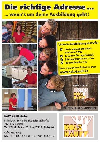 Ausbildung bei Holz-Hauff in Leingarten