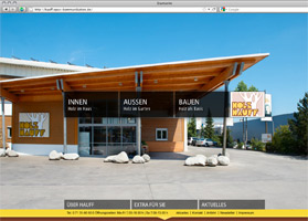 Relaunch der Website von Holz-Hauff in Leingarten