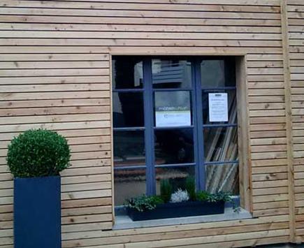 Referenzen zur Fassadenbekleidung von Holz-Hauff in Leingarten