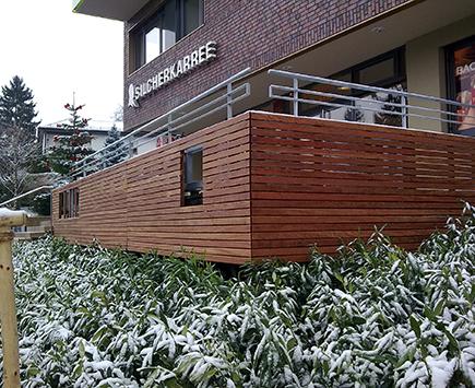 Terrassen Referenzen von Holz-Hauff in Leingarten