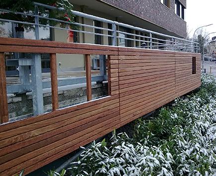 Holzterrassen Referenzen von Holz-Hauff in Leingarten