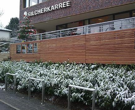 Terrassen Referenzen aus Holz und Metall von Holz-Hauff in Leingarten