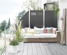 Gartenglück dank Sichtschutz von Holz-Hauff in Leingarten