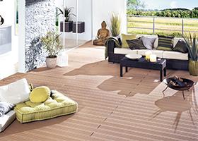 Terrassendielen aus WPC bei Holz-Hauff in Leingarten