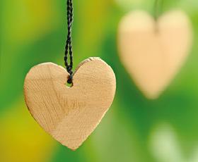 Zirbenholz Herz bei Holz-Hauff in Leingarten