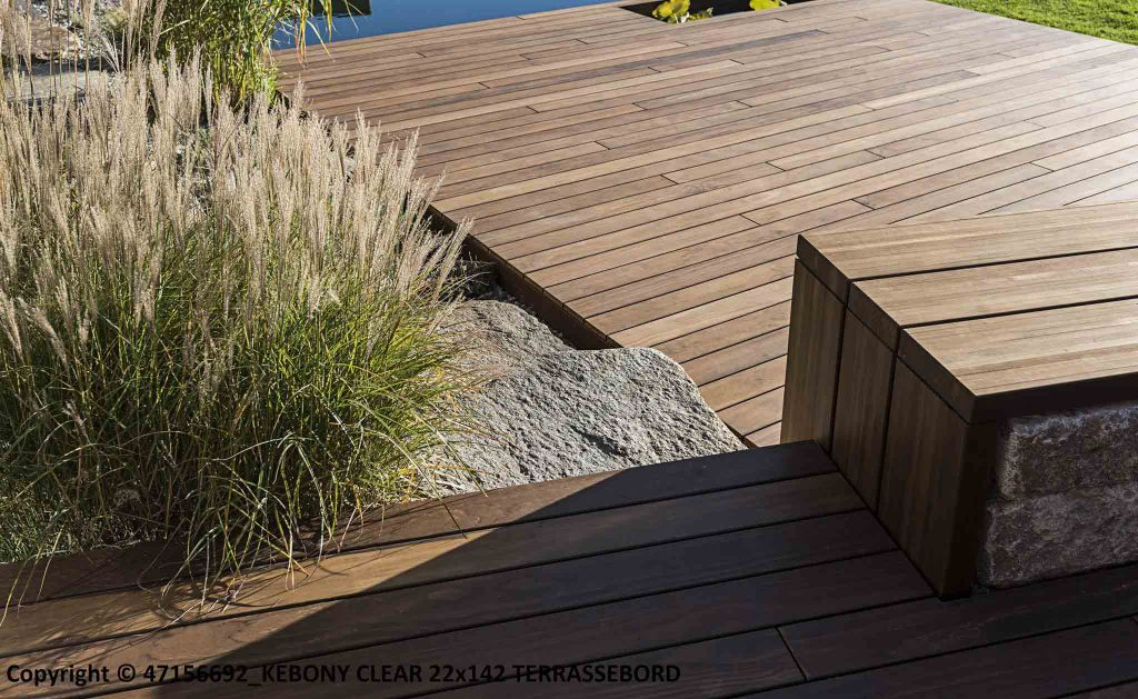 Kebony Terrassendielen Holz-Hauff Leingarten