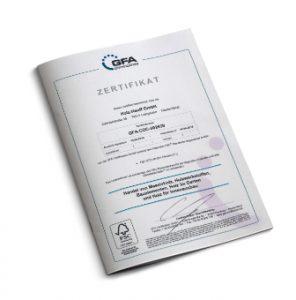 Zertifikat FSC von Holz-Hauff in Leingarten