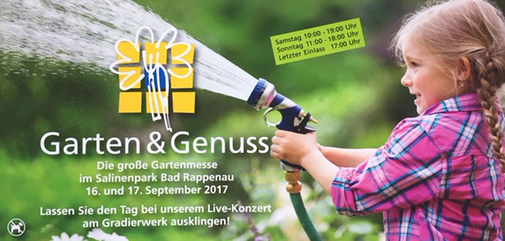 Holz-Hauff auf der Messe Garten & Genuss 2017 in Bad Rappenau