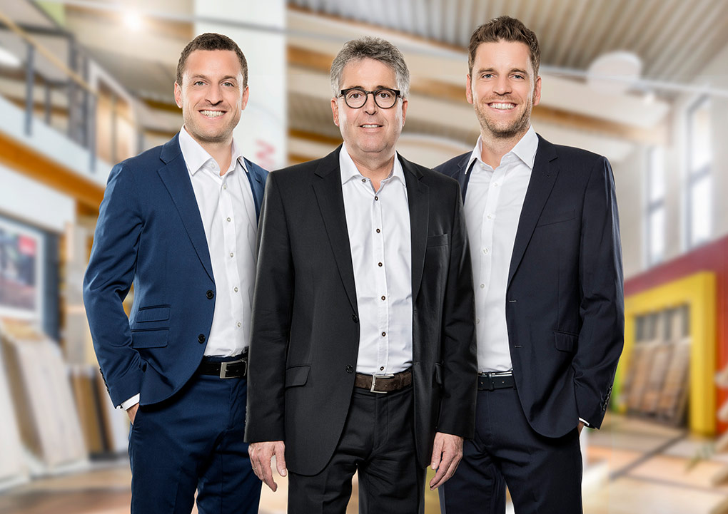 Fabian, Werner und Sebastian Hauff