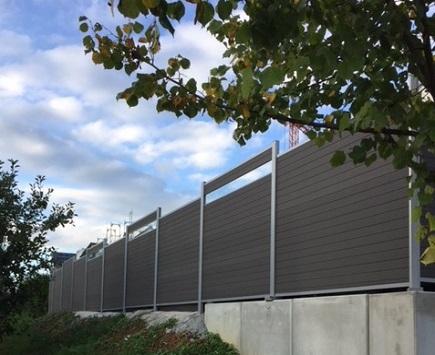 Referenzen zu modernem Gartenzaun von Holz-Hauff in Leingarten
