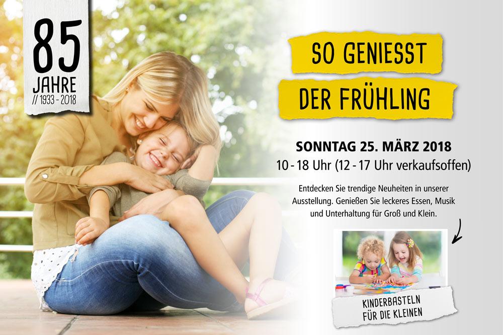 Frühlingsfest 2018 bei Holz-Hauff in Leingarten