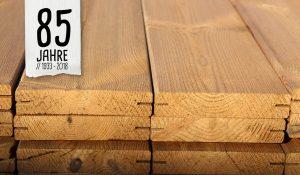 Terrassendielen zum Jubiläum von Holz Hauff
