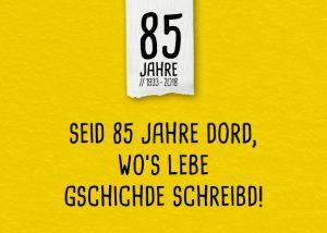 85 Jahre Holz-Hauff Jubiläumsjahr
