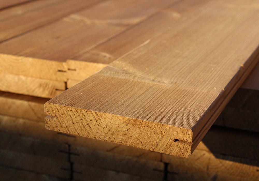 Terrassendielen Thermo Fichte von Holz Hauff in Leingarten