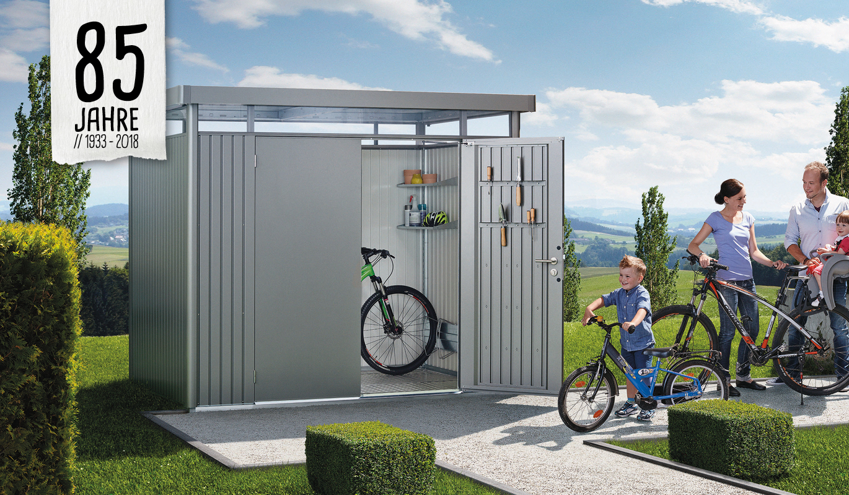Ultimatives Biohort Gerätehaus bei Holz-Hauff in Leingarten