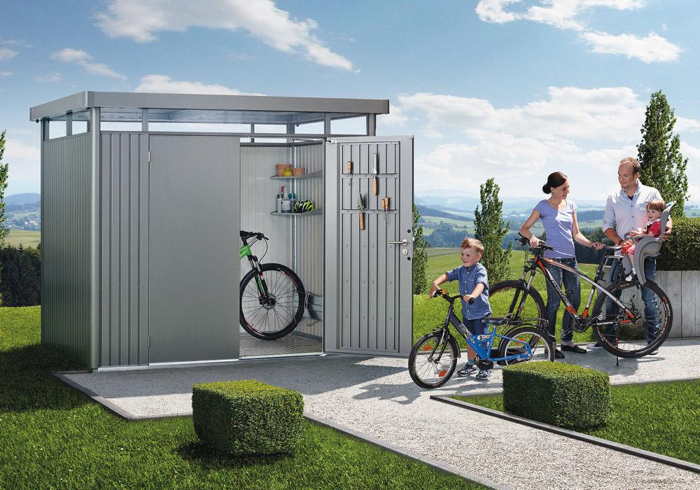 Biohort Gerätehaus bei Holz-Hauff in Leingarten