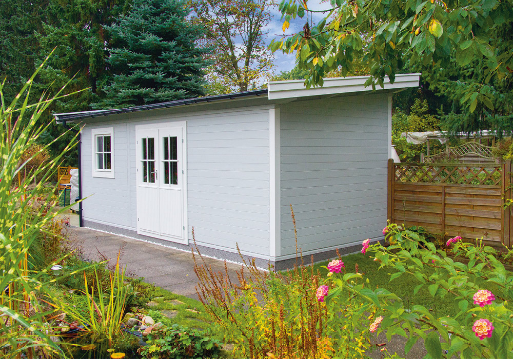 Modernes Gartenhaus über Holz-Hauff in Leingarten