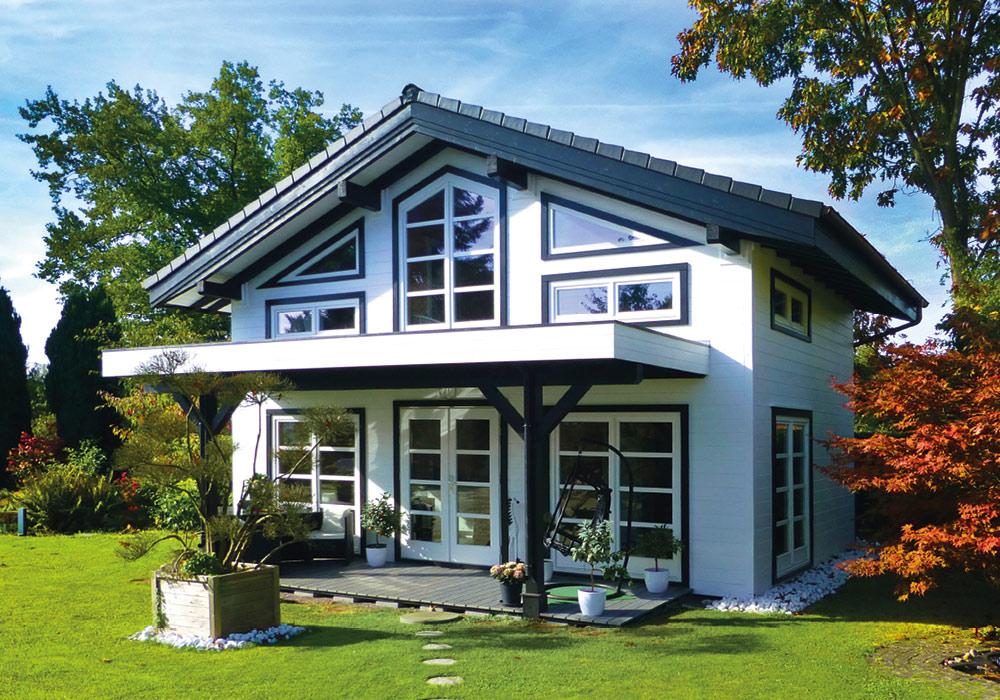 Wochenend-Gartenhaus über Holz-Hauff in Leingarten