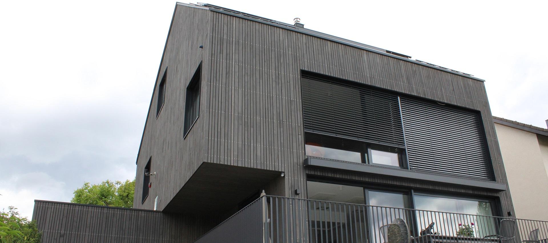 Fassade Privathaus Böckingen Heyd GmbH
