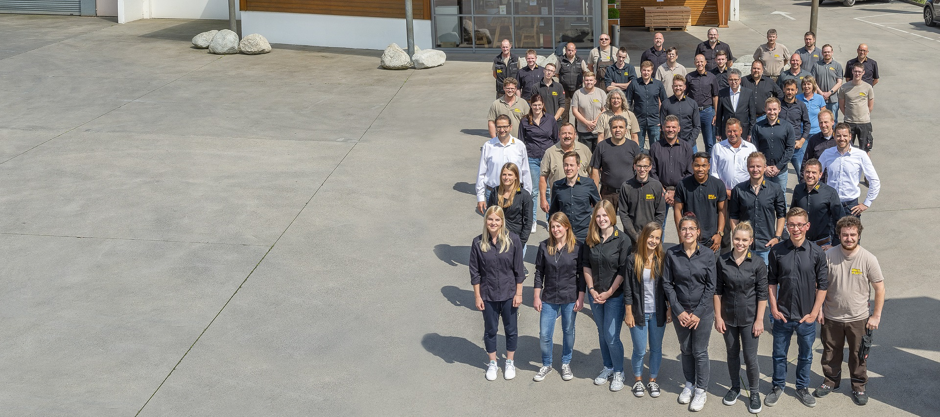 Gruppenbild Firma Holz-Hauff