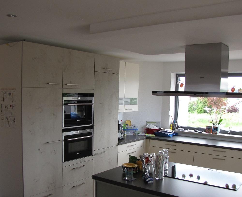 Küchenfront Imi-Beton