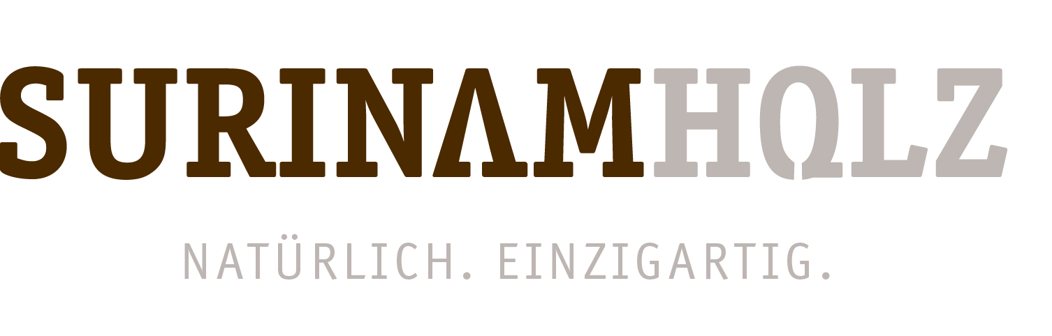 Surinamholz_Logo mit Slogan