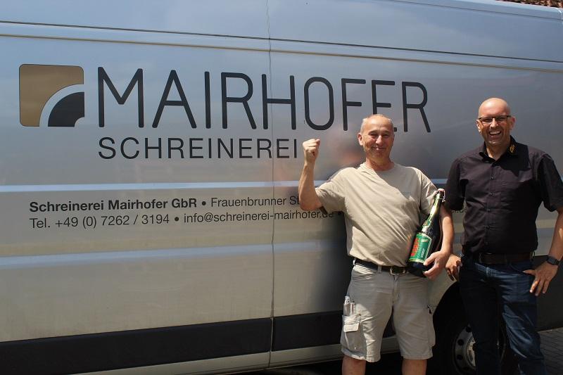 4. Platz Fa. Mairhofer aus Eppingen