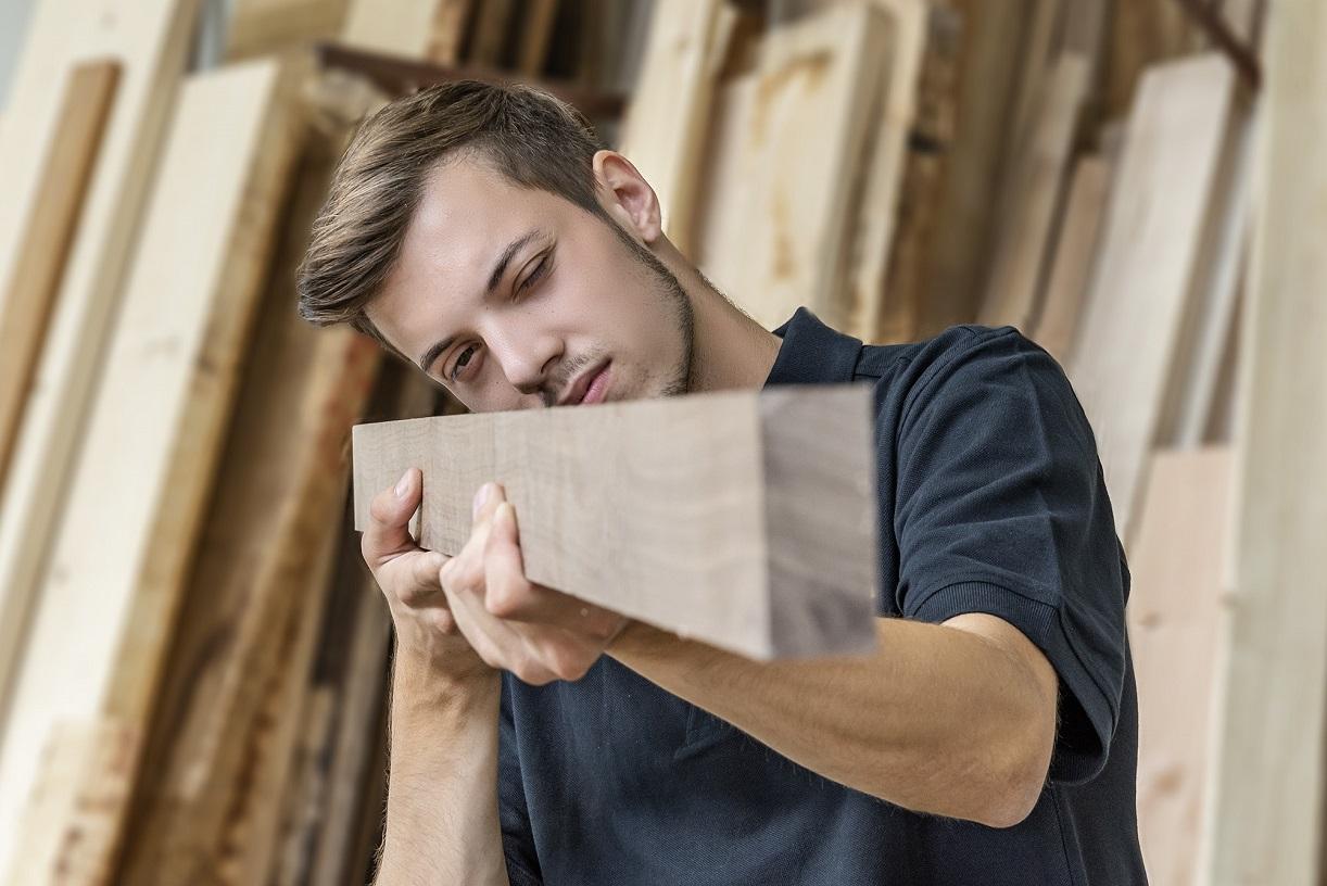 Holzbearbeitungsmechaniker Nicklas Riederer