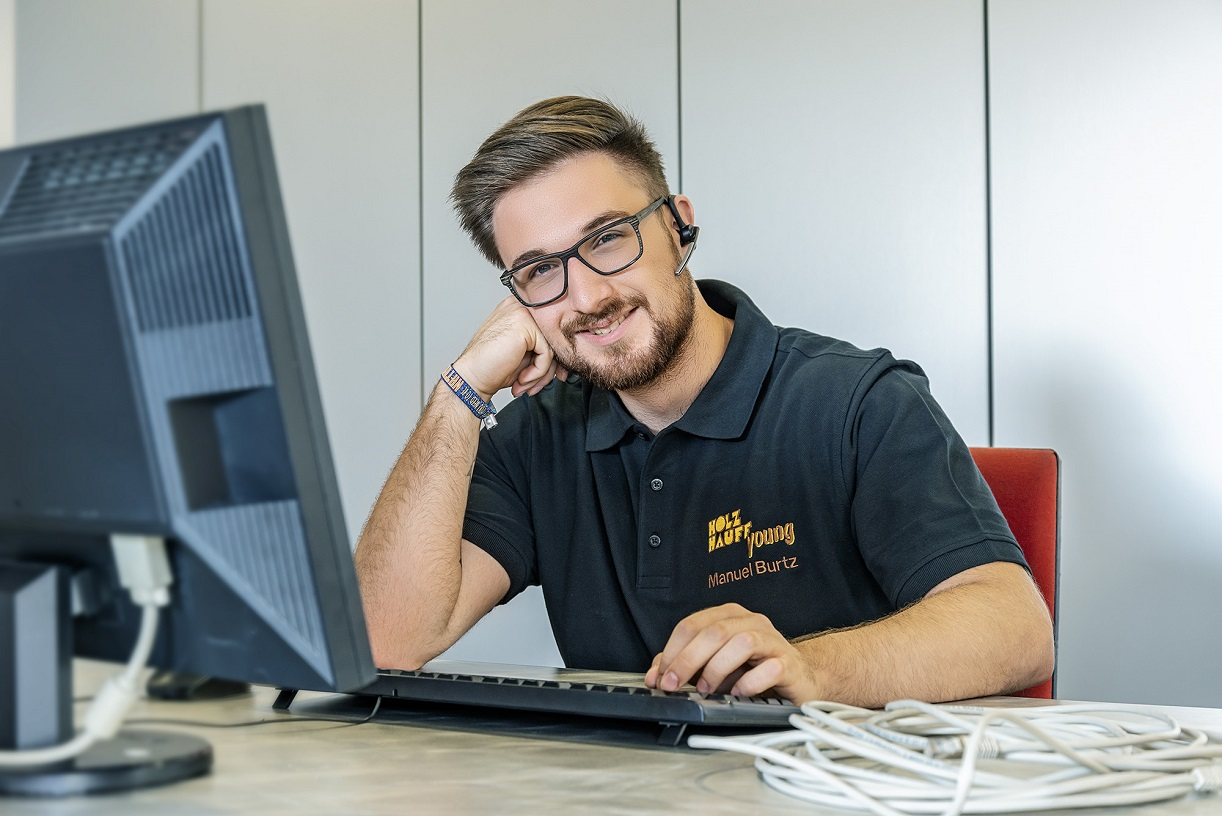 Informatikkaufmann Manuel Burtz