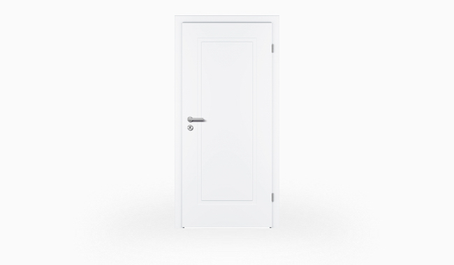 Modena M1 Weißlacktür zum Jubiläumspreis bei Holz-Hauff in Leingarten