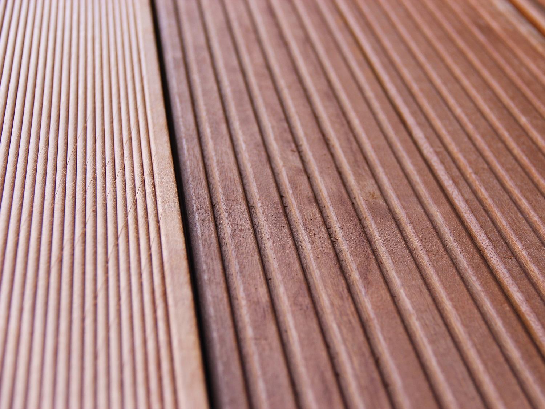 Bangkirai Holz Terrassendielen Gartenausstellung Holz-Hauff