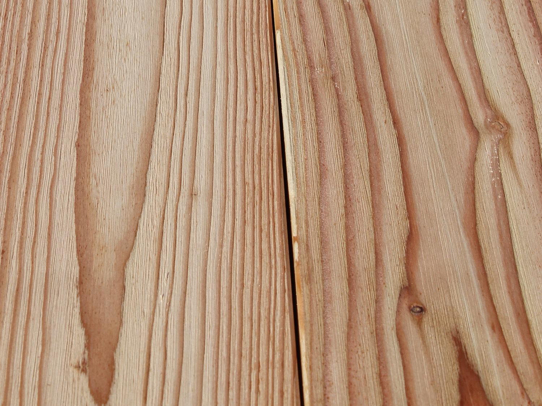 Europäische Lärche Holz Terrassendielen Gartenausstellung Holz-Hauff