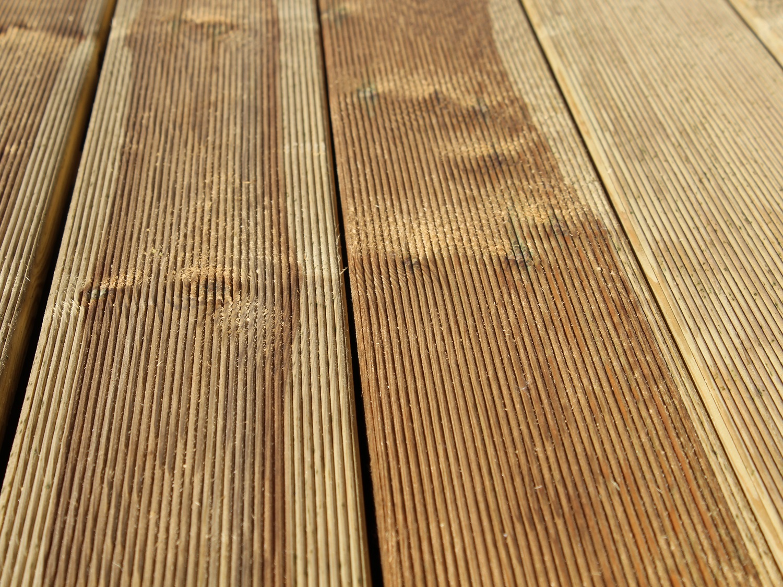 Fichte/ Kiefer KDI Holz Terrassendielen Gartenausstellung Holz-Hauff