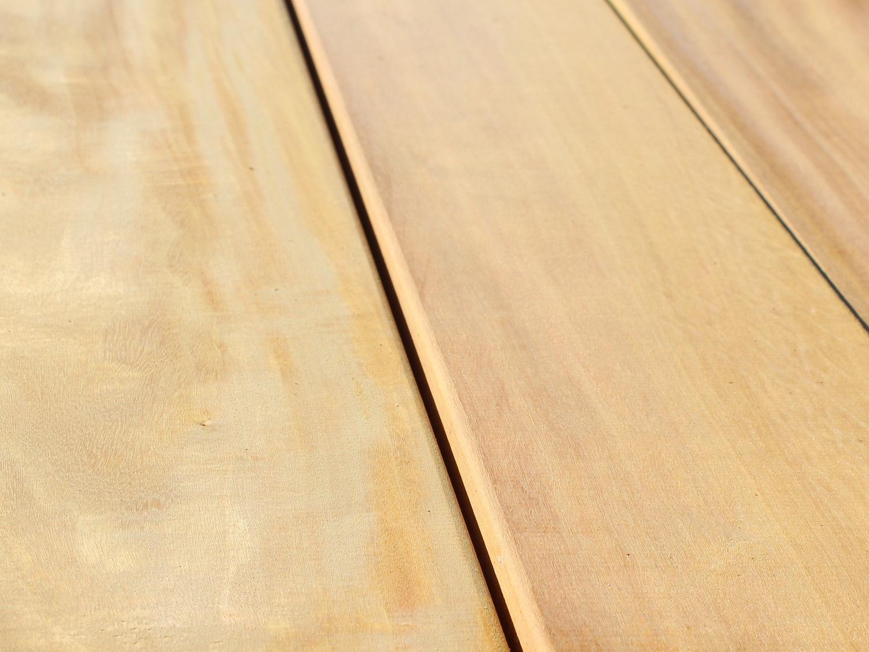 Garapa Holz Terrassendielen Gartenausstellung Holz-Hauff