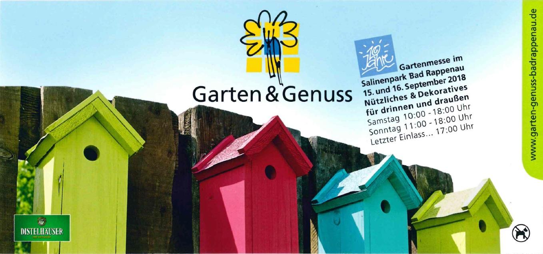 Flyer Garten & Genuss