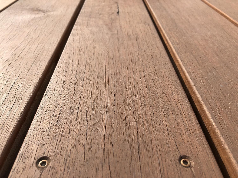 Holz Terrassendielen Gartenausstellung Holz-Hauff