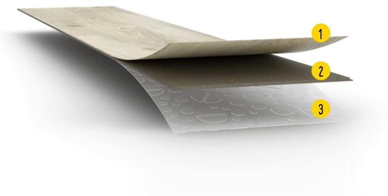 Vinylboden ohne Vinyl | Aufbau MeisterDesign. flex | Designböden bei Holz-Hauff in Leingarten
