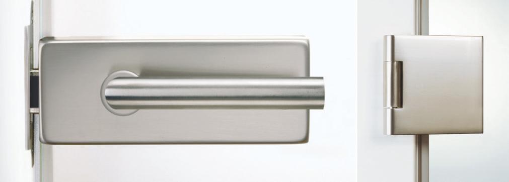 Licht und Harmonie mit Ganzglastüren | Beschlagtechnik | Holz-Hauff in Leingarten