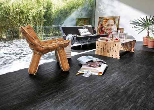 Vinylboden ohne Vinyl | Dunkle Designböden bei Holz-Hauff in Leingarten