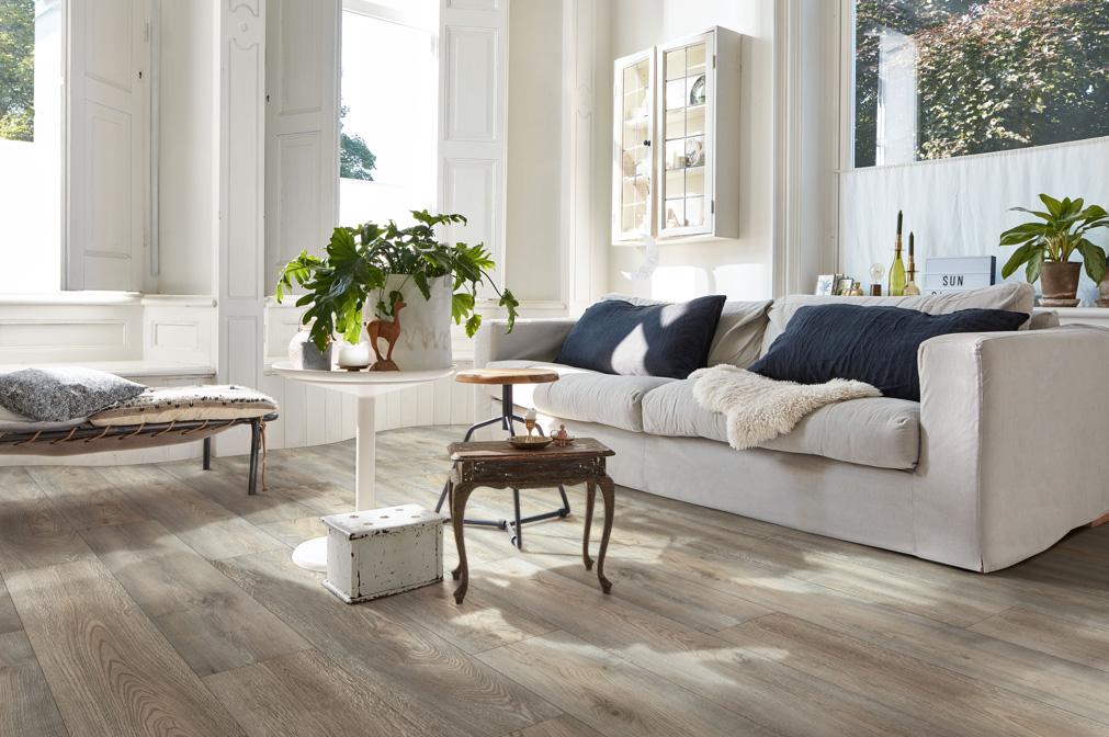 Vinylboden ohne Vinyl | Graue Designböden bei Holz-Hauff in Leingarten
