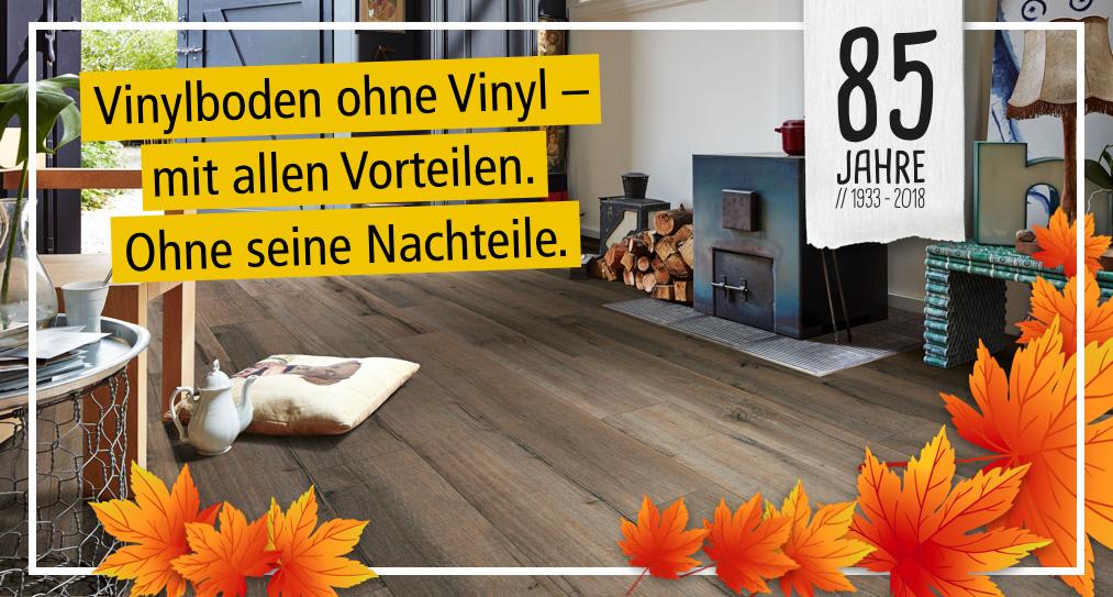 Vinylboden ohne Vinyl | Designböden bei Holz-Hauff in Leingarten | Header Blog