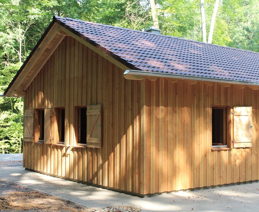 Holzhaus Waldkindergarten bei Holz-Hauff GmbH in Leingarten