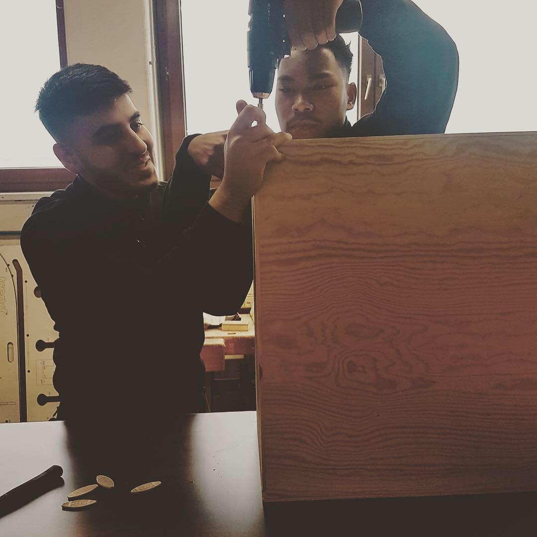 DIY Projekt Auszubildende von Holz-Hauff GmbH in Leingarten
